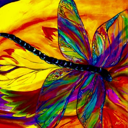 """Dragonfly"" Coaster"