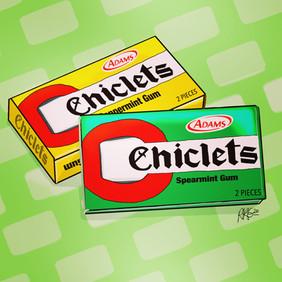 Chiclets Gum