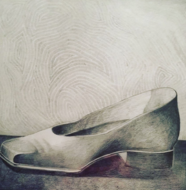 Still Life Pump Shoe