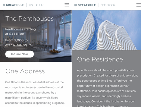 Mobile / Responsive Website
