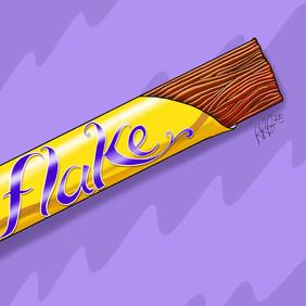 Flake Chocolate