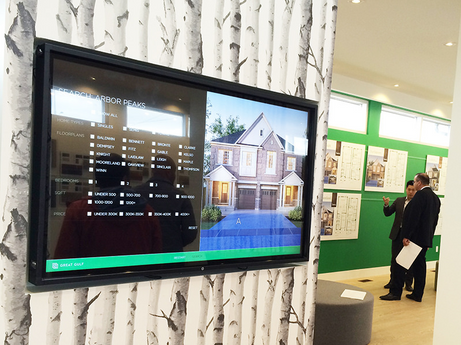 Sales Centre Touch Screen App