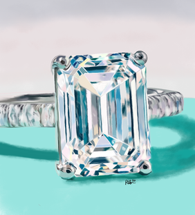 Tiffany Emerald Cut Diamond