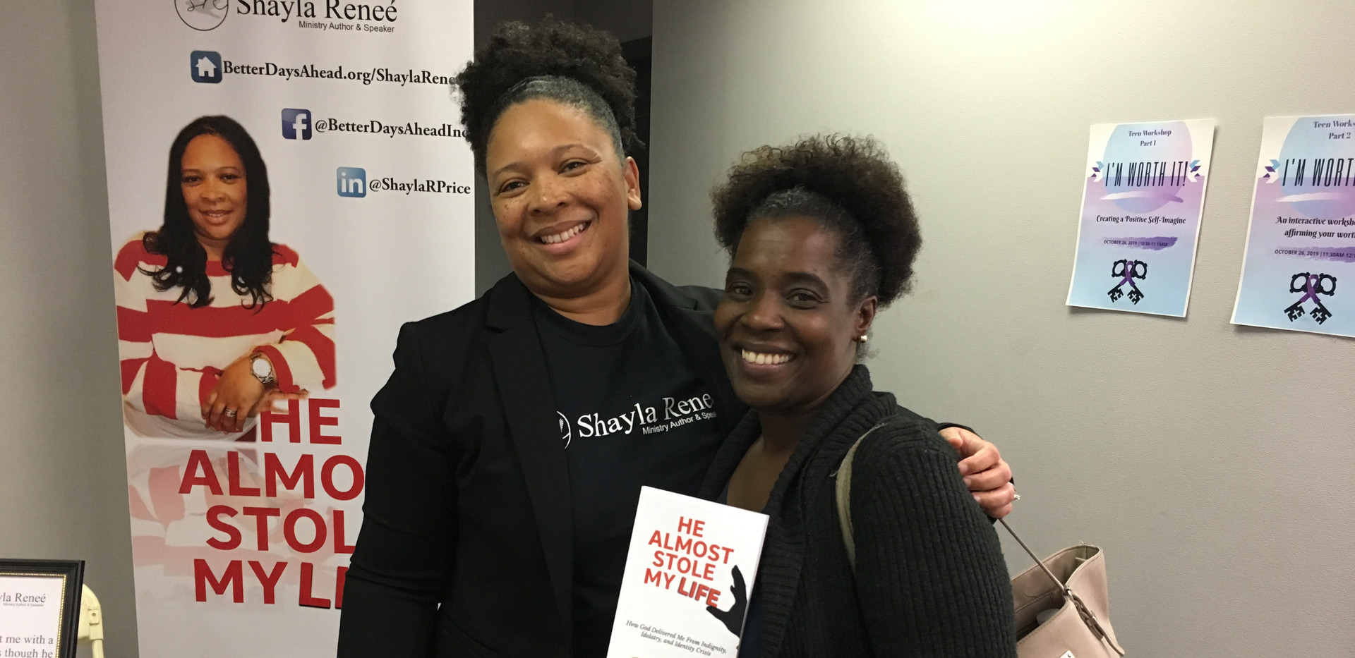 More love for HASML at Redefining HERstory Conference