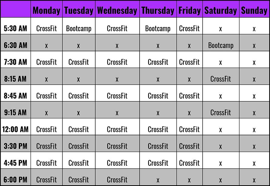 Mallard CrossFit Schedule - 2021.png