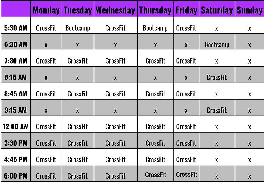 Mallard CrossFit Schedule - 2021.jpg