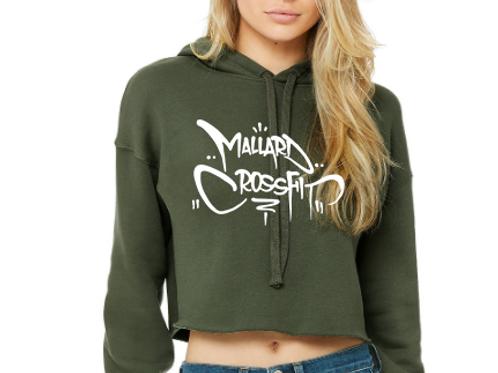 Mallard CrossFit Crop Hoodie