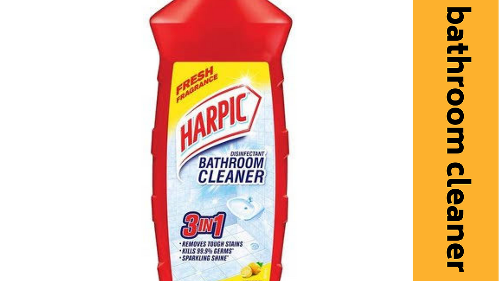 Harpic bathroom cleaner 1ltr
