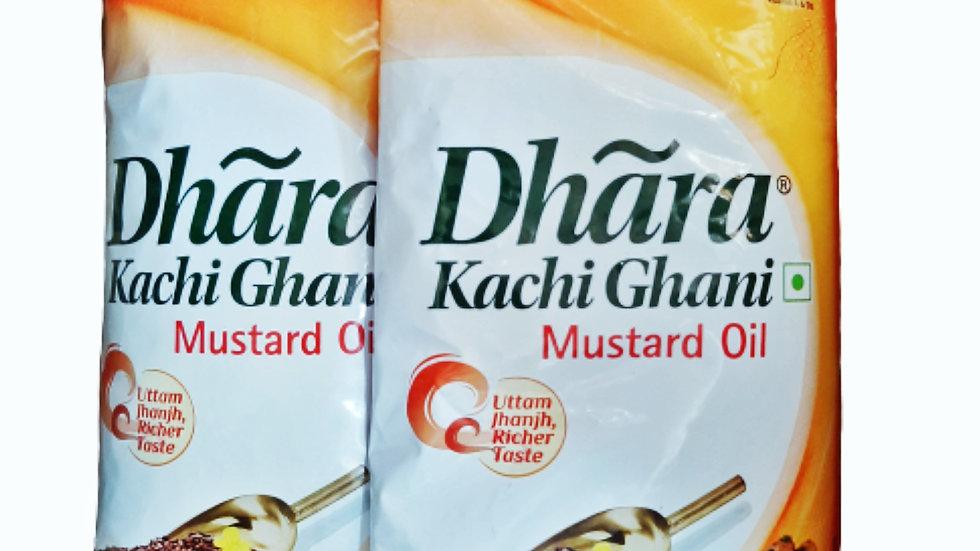 Dhara mustard oil 1ltr