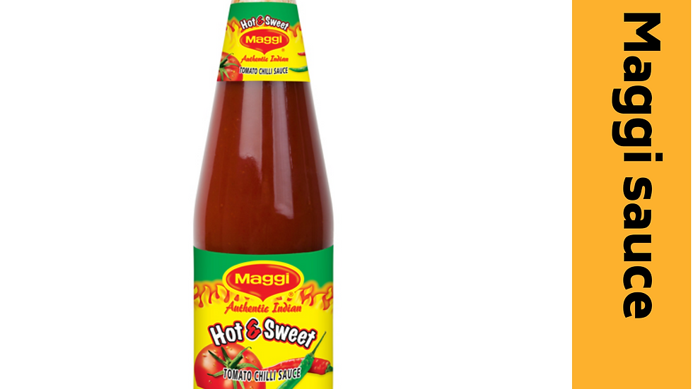 Maggi sauce-hot & sweet 1kg