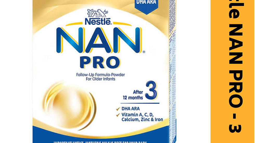 Nestle NAN PRO -3 (after 12 month)