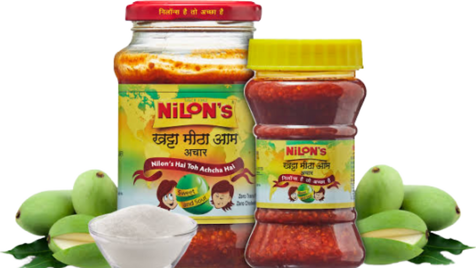 NILON's mango pickles,350gms