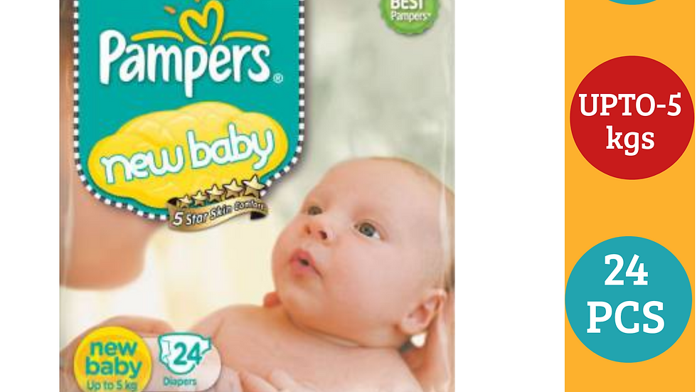Pampers new baby 24 Pcs