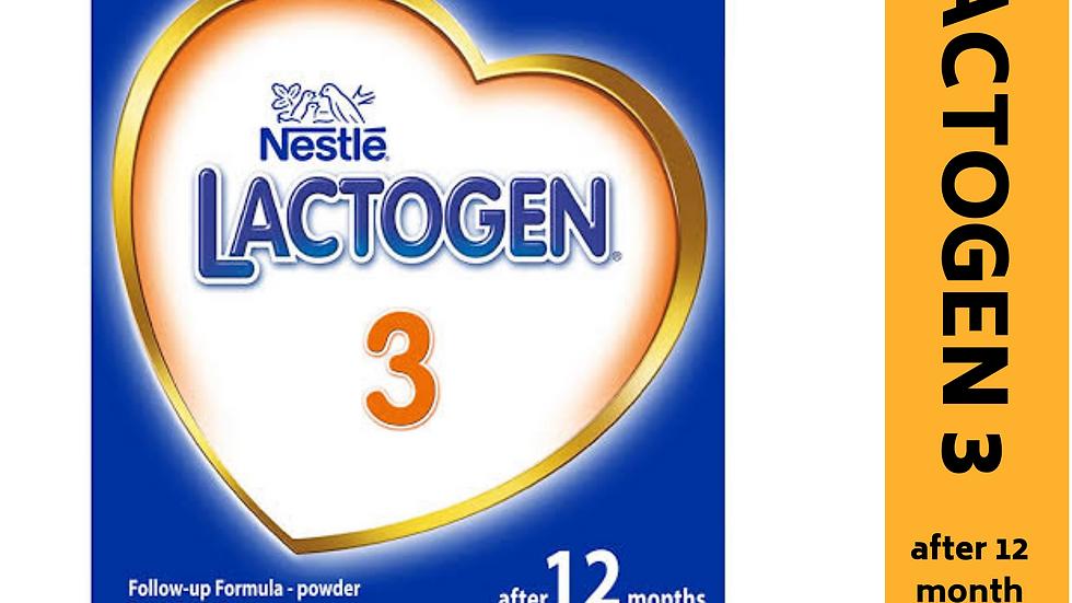 Nestle Lactogen 3 (after 12month)