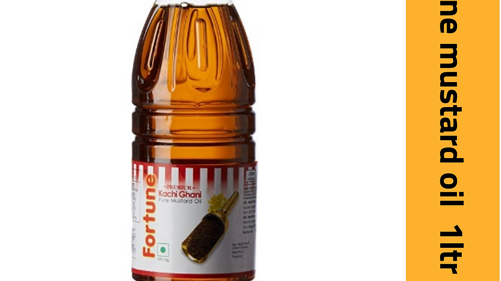 Fortune mustard oil 1ltr