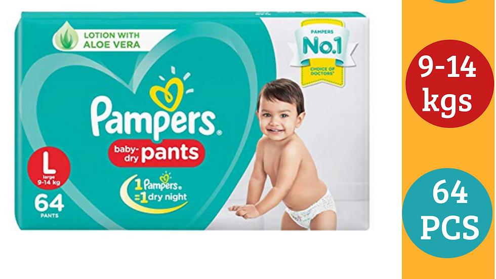 Pampers dry pant L (64PCS)