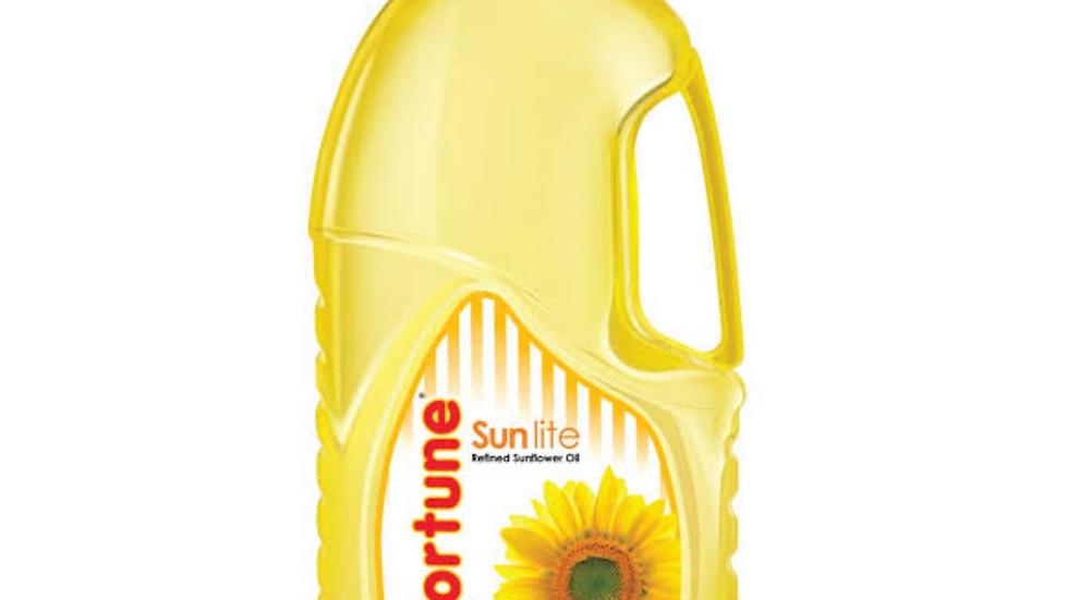 Fortune refind sunflower oil, 2ltr