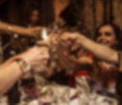 Corproate event toast