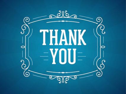 """Thank You""  (Blog #166)"
