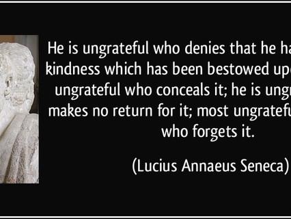 """Are You Ungrateful""  (Blog #161)"