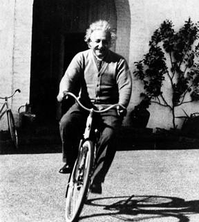 """""""Einstein Rode A Bike""""  (Blog #158)"""