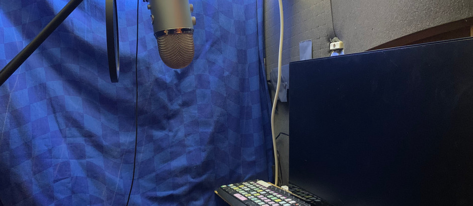 We have a sound recording booth