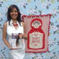 Aruna Wins First Place Debbie Bliss' International Knit Design Contest