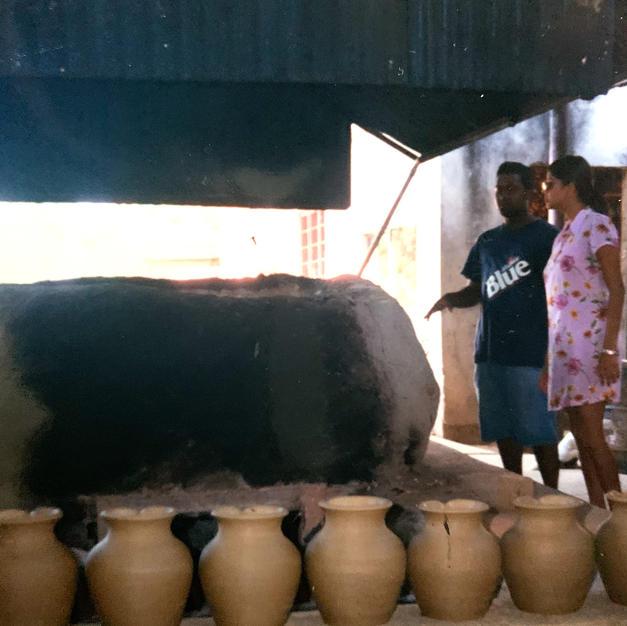 Fascinating Traditional Kiln in Trinidad