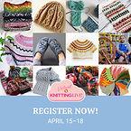 Vogue Knitting Live Poster April - Regis