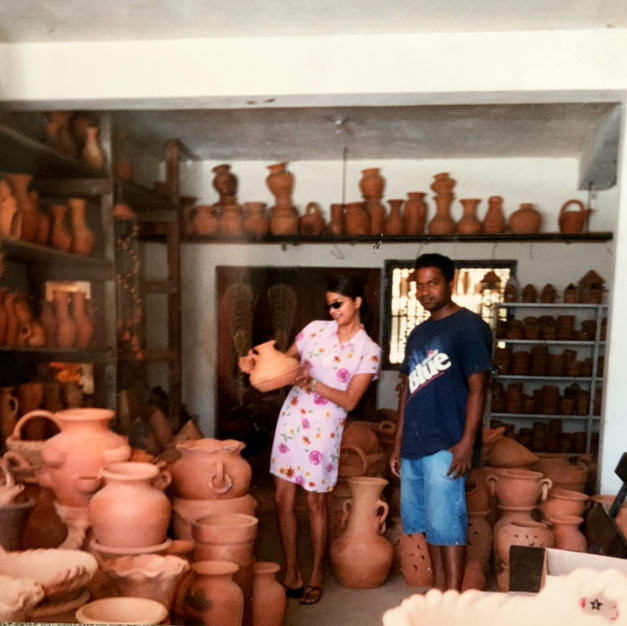 Local Trinidadian Potter Gives me a Tour of his Studio