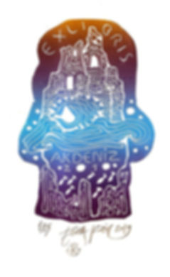 painter, ex-libris, print, london, esra, kizir, gokcen, gallery, exhibition