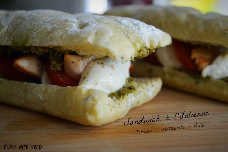 Sandwich à l'Italienne [Bataille Food #47]