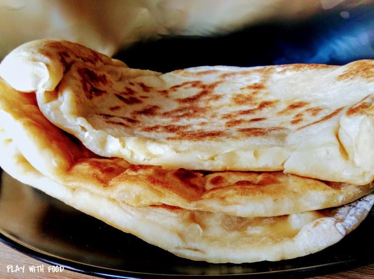 Cheese Naans - Un régal Indien
