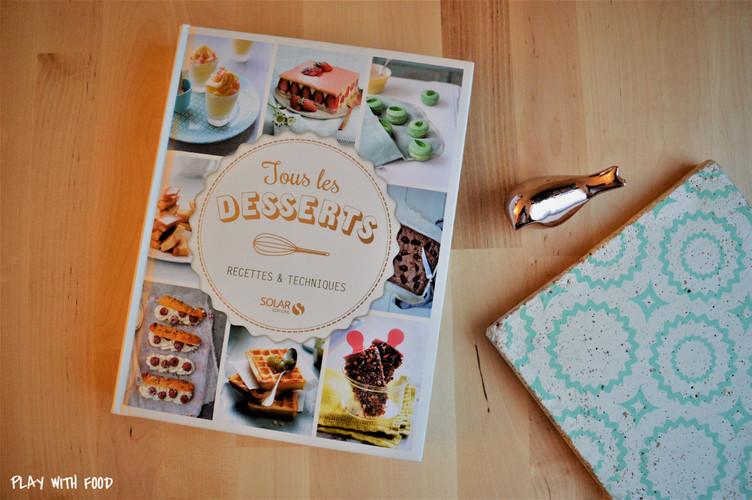 """Coup de coeur :  """"Tous les desserts - Solar Editions"""""""