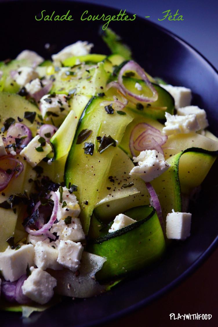 Salade Fraîche (Bis) Courgettes - Féta