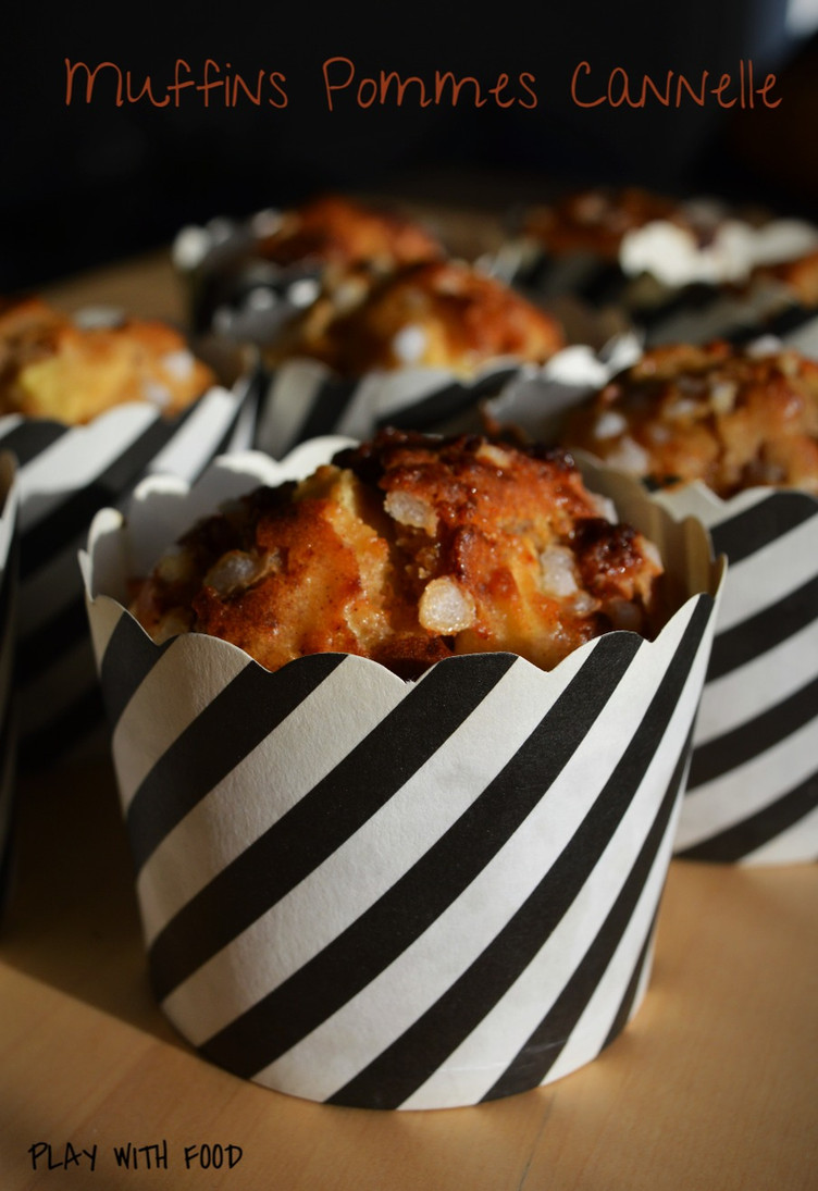 Muffins Pommes Cannelle (trop moelleux)