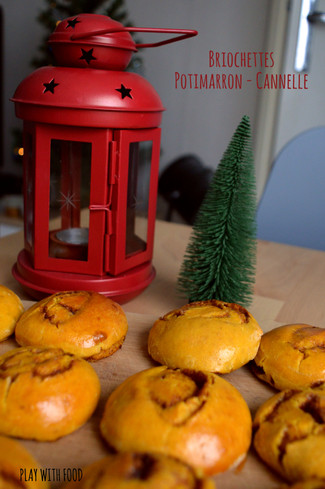 Briochettes Potimarron - Cannelle [Foodista Challenge #36]