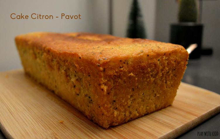 Cake Citron - Pavot