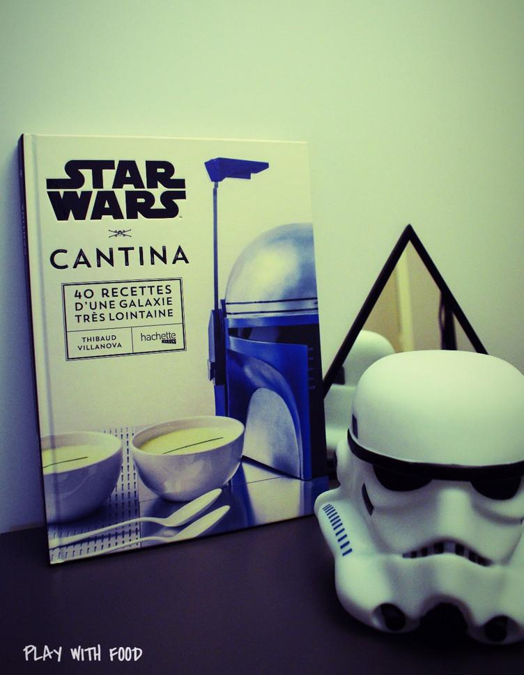STAR WARS Cantina - Edition Hachette : +Samoussas Menthe-Concombre-Feta [Niveau Padawan]