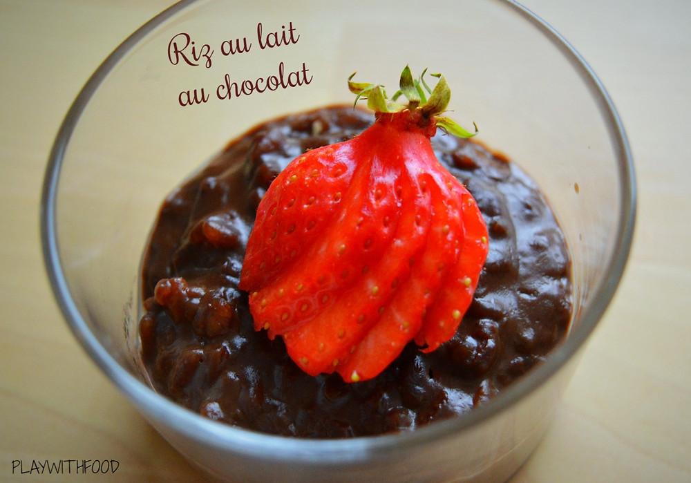 Riz au lait Chocolat | PLAYWITHFOOD