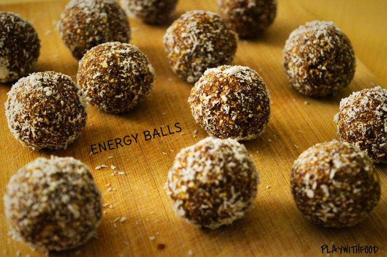 Energy Balls - Dattes et Avoine