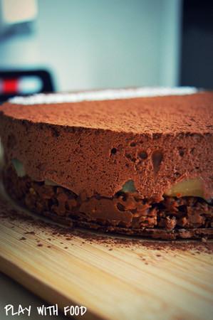 trianon (ou royal) chocolat-poires | blog culinaire | recette