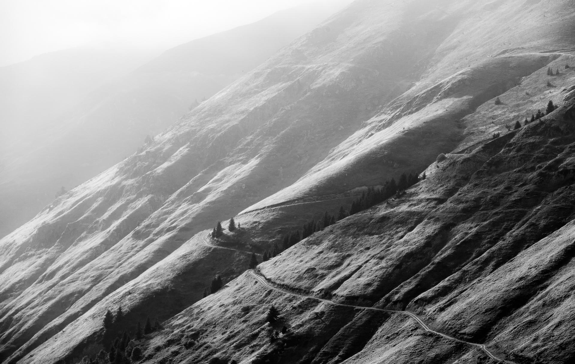 Montagnes de contraste