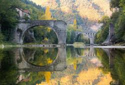 Pont cassé du Rozier