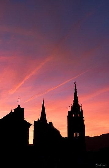 Sunset Pénitent et clochers