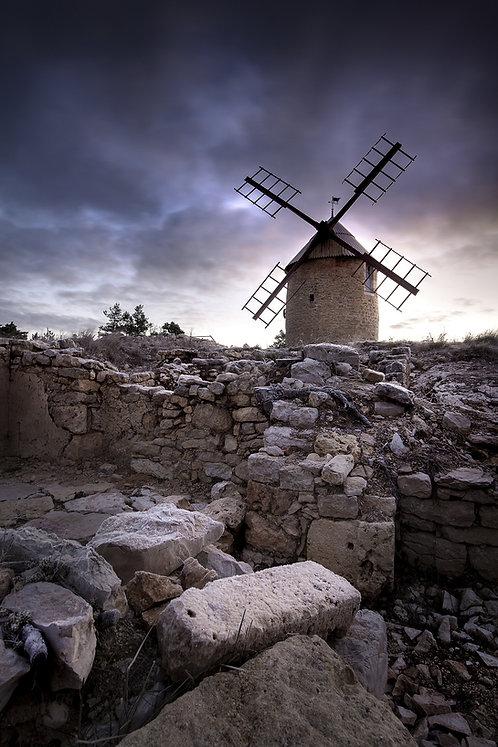 Les ruines du moulin