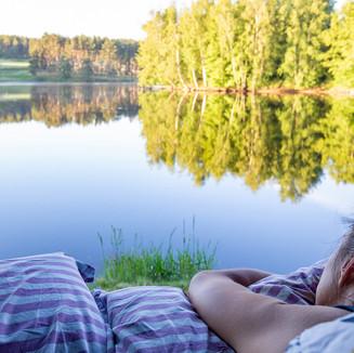 Se réveiller face à un Lac
