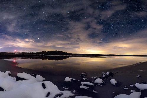 Nocturne hivernal à Charpal