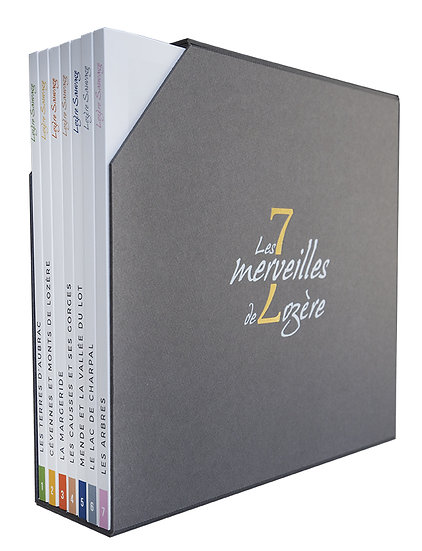 Coffret les 7 merveilles de Lozère