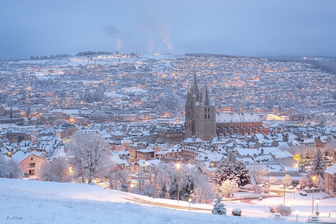 Mende sous la neige